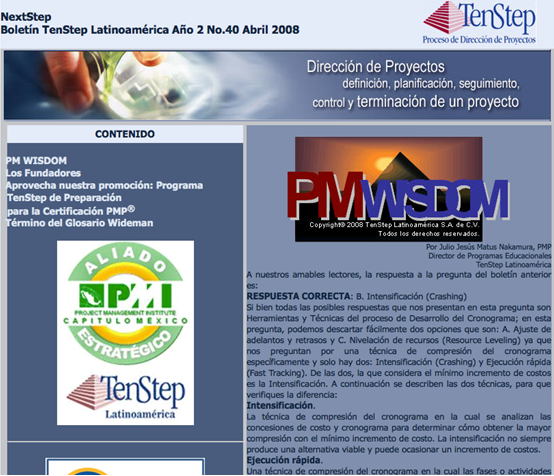 Proyectum 2008