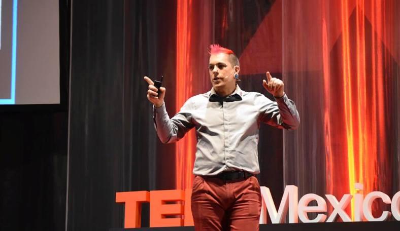 TEDx México Alvar Sáenz Otero